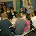 LifePoint kids at craft table